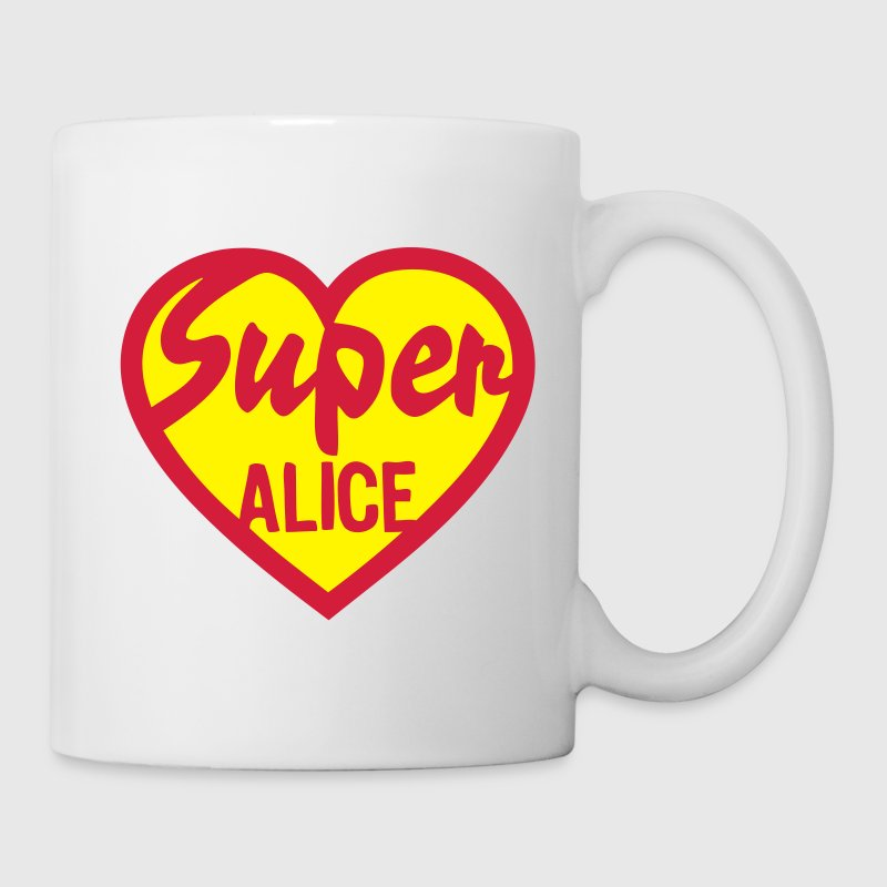 coeur heart super alice Tasses - Tasse