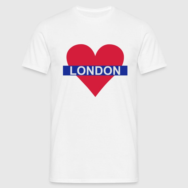 Love London - Underground T-Shirts - Männer T-Shirt