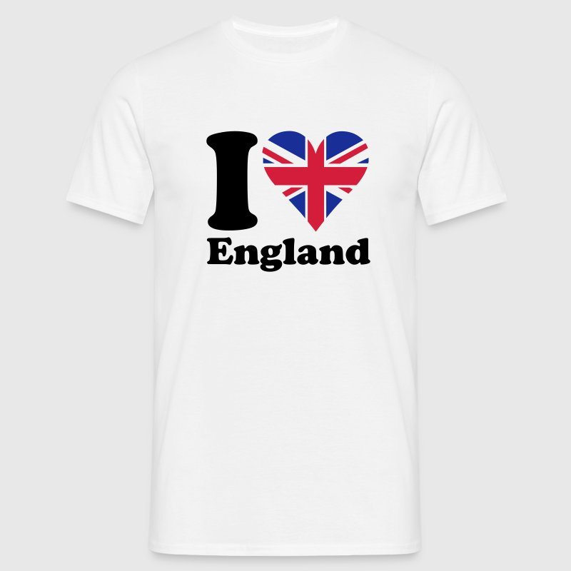 I heart England T-Shirts - Men's T-Shirt