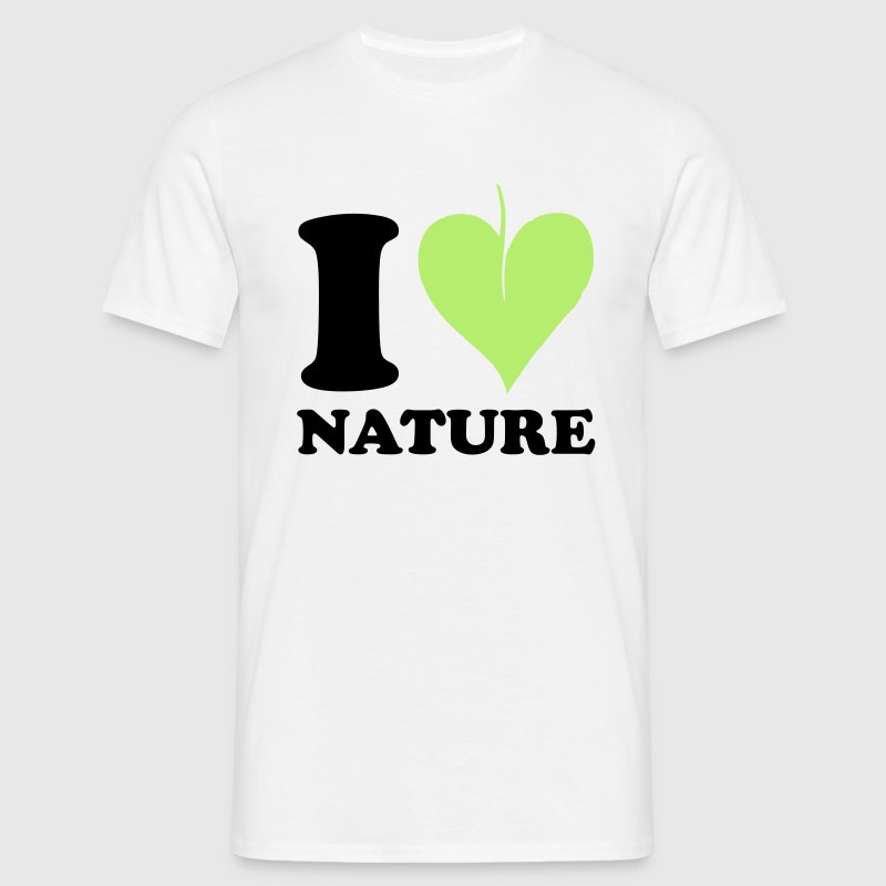 I love Nature T-Shirts - Männer T-Shirt