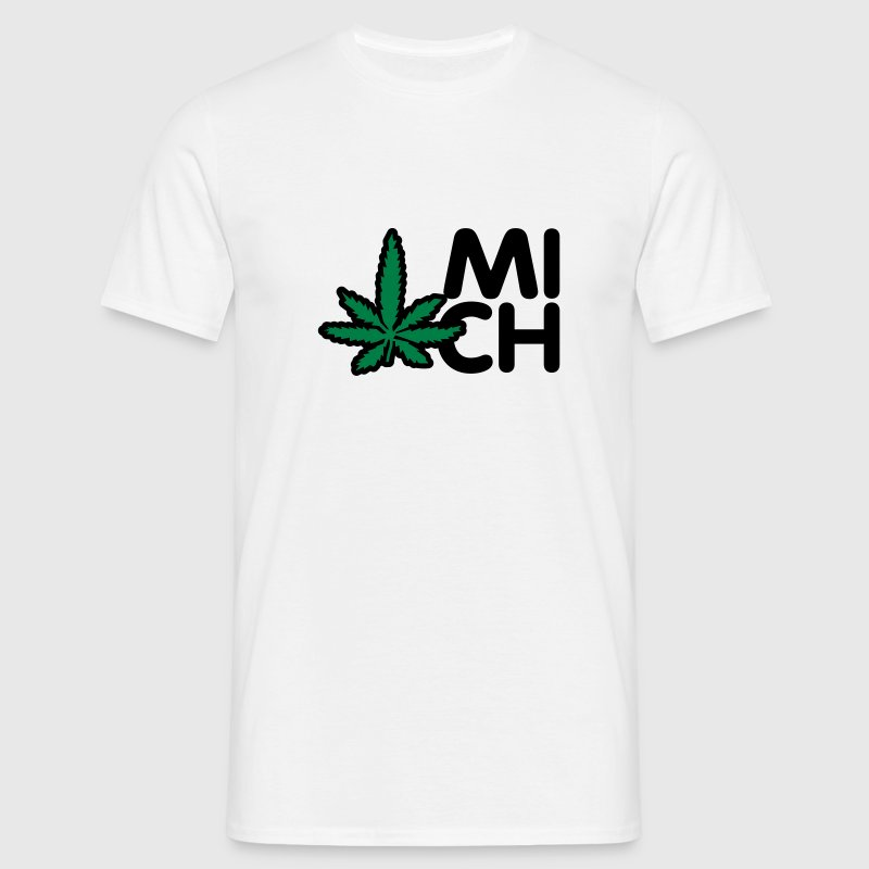 Hash mich | Hasch mich T-Shirts - T-shirt Homme