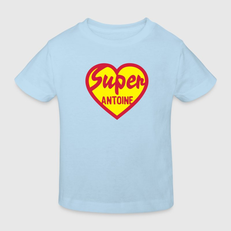 antoine super coeur heart love Tee shirts Enfants - T-shirt Bio Enfant