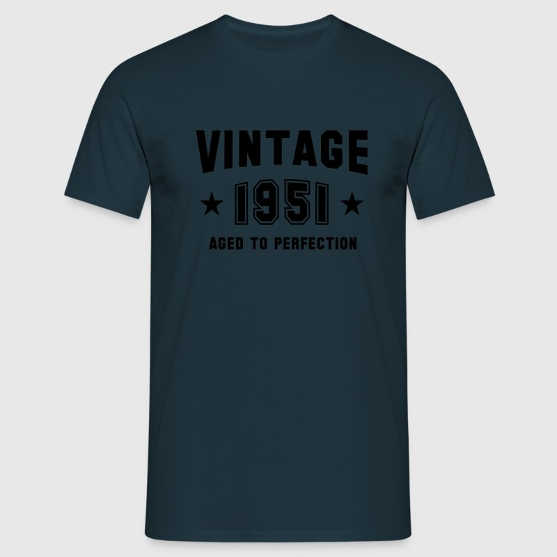VINTAGE 1951 - Birthday T-Shirt - Men's T-Shirt