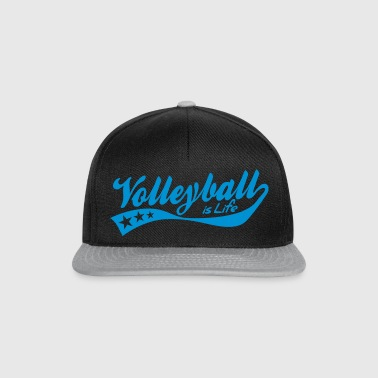 volleyball is life - retro Sacs - Casquette snapback