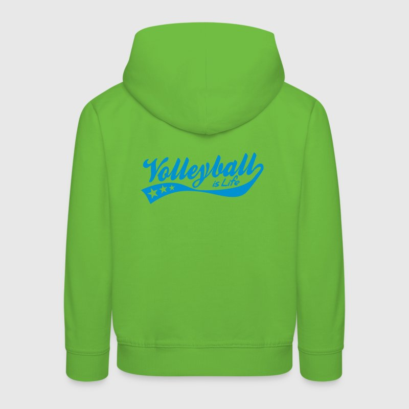 volleyball is life - retro Sweats Enfants - Pull à capuche Premium Enfant