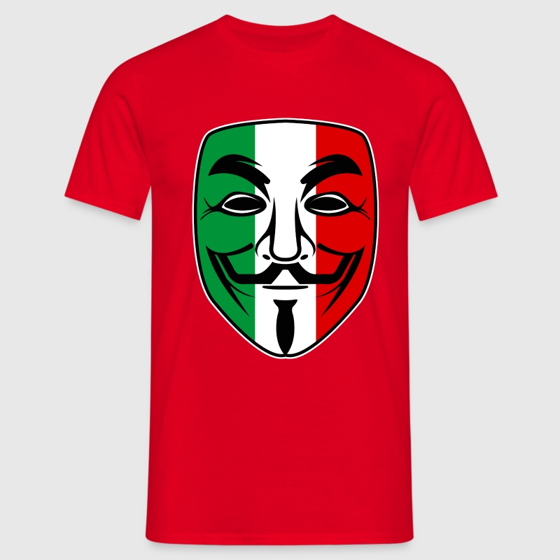 italy anonymous design Tee shirts - T-shirt Homme