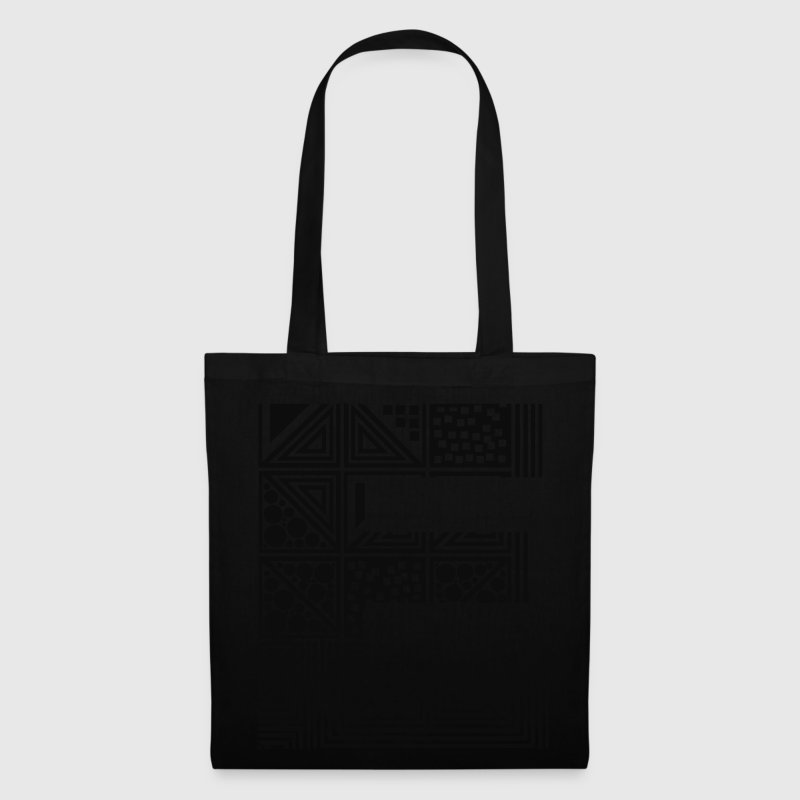 Black Letter E Bags  - Tote Bag