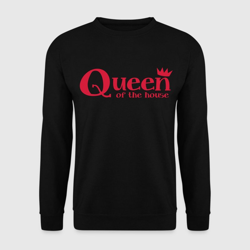 queen of the house with a little crown Hoodies & Sweatshirts - Men's Sweatshirt
