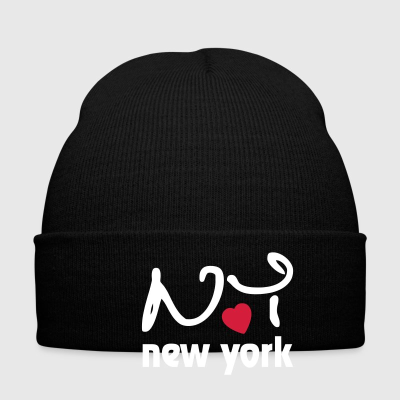 I love New York Caps & Mützen - Wintermütze