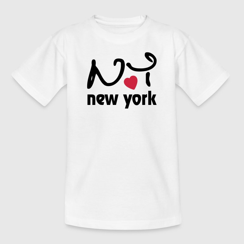 I love New York Tee shirts Enfants - T-shirt Ado