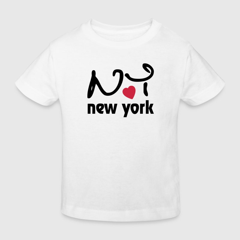 I love New York Barn-T-shirts - Ekologisk T-shirt barn