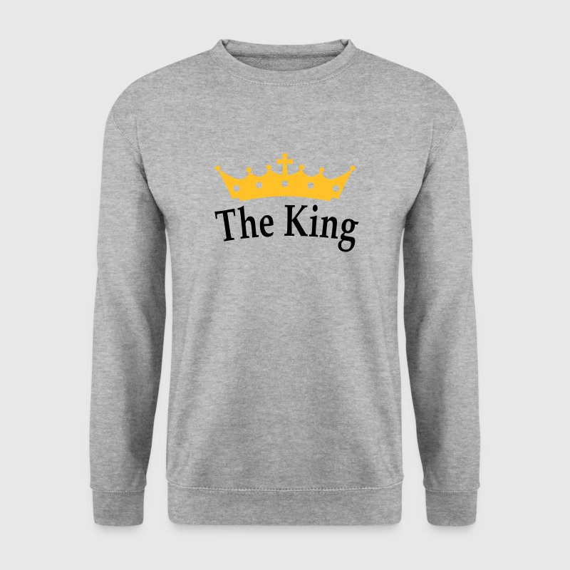 The King Pullover - Männer Pullover