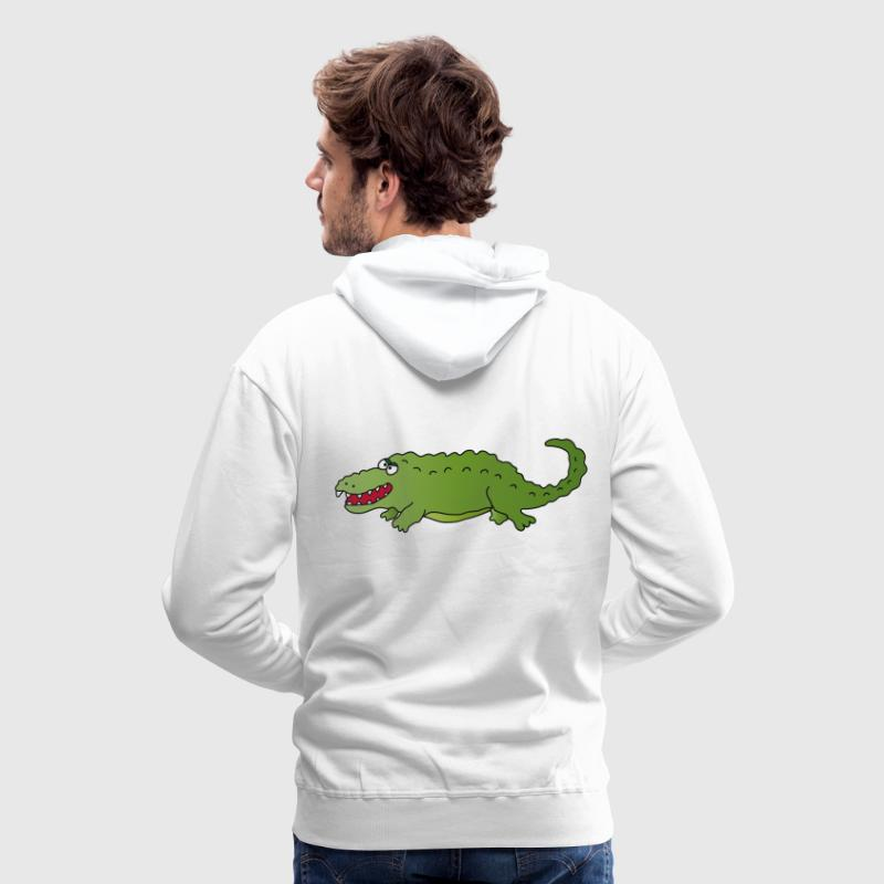 Crocodile Sweat-shirts - Sweat-shirt à capuche Premium pour hommes