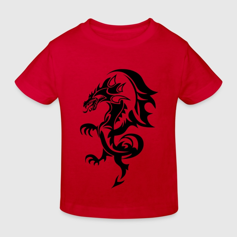 dragon tribal tattoo tatouage11 Tee shirts Enfants - T-shirt Bio Enfant