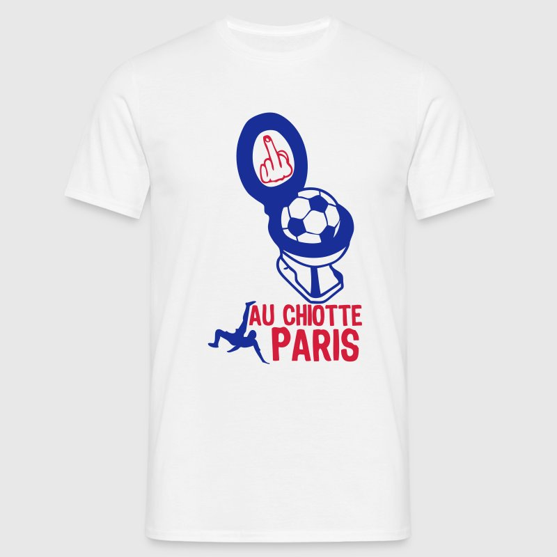 chiotte paris football non supporter Tee shirts - T-shirt Homme