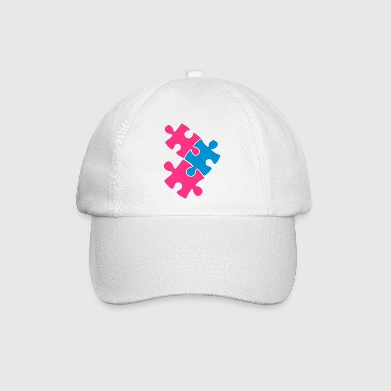 three jigsaw pieces fitting together 3 Caps & Hats - Baseball Cap