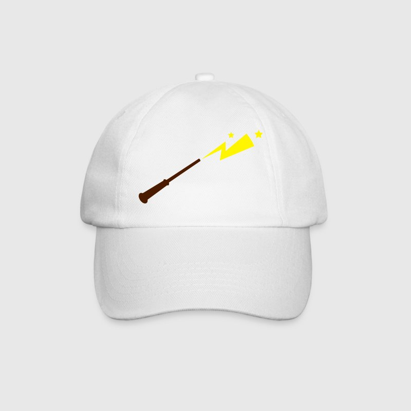 simple magic wand with sparks and stars magical!  Caps & Hats - Baseball Cap