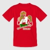 welsh red dragon uk teenagers boxing t-shirts - Teenage T-shirt