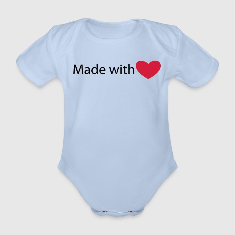 Made with love - Body bébé bio manches courtes
