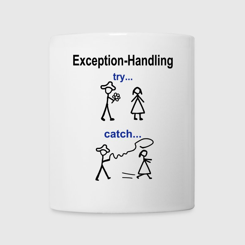 Try-catch code Java - Tasse