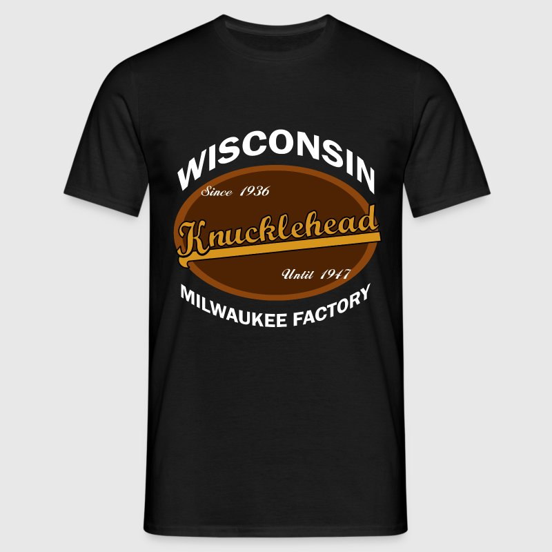 Milwaukee Knucklehead T-Shirts - Männer T-Shirt