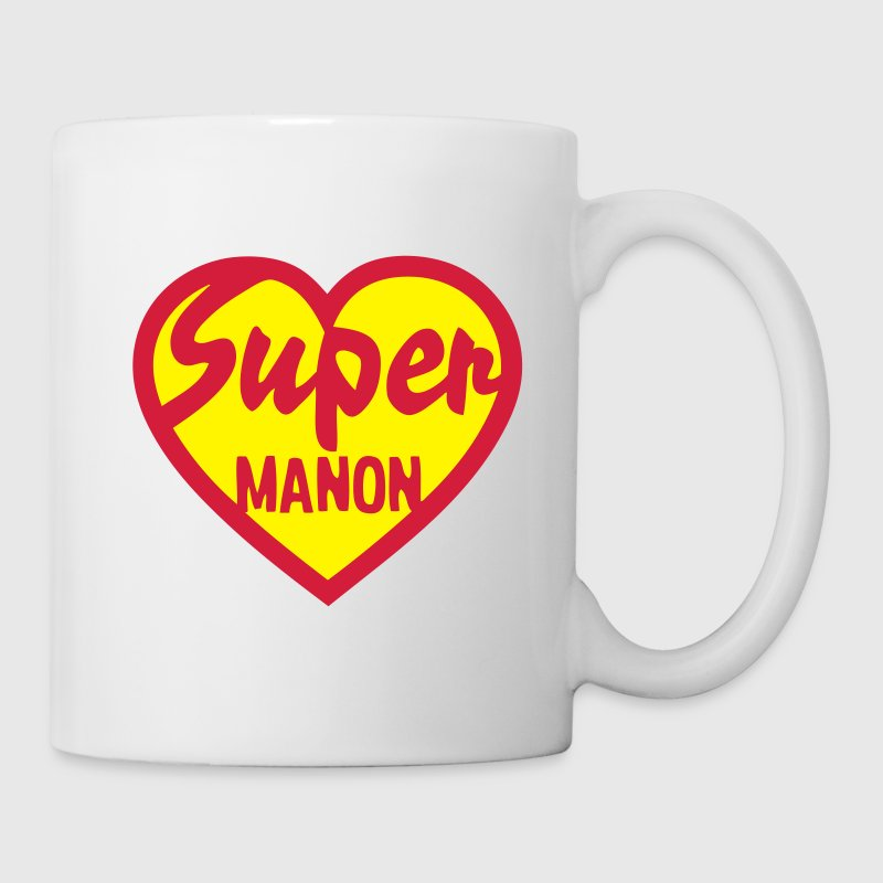 coeur heart super manon Tasses - Tasse