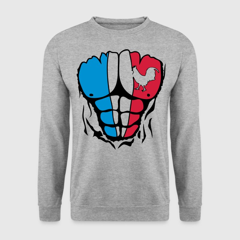 coq france muscle corps bodybuilding dec Sweat-shirts - Sweat-shirt Homme