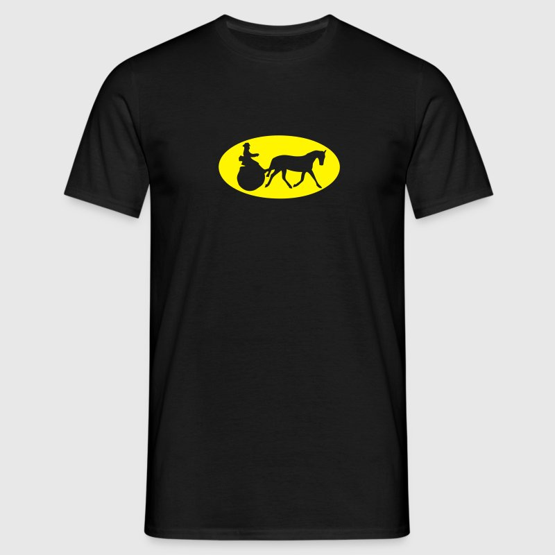 attelage tradition logo bat Tee shirts - T-shirt Homme