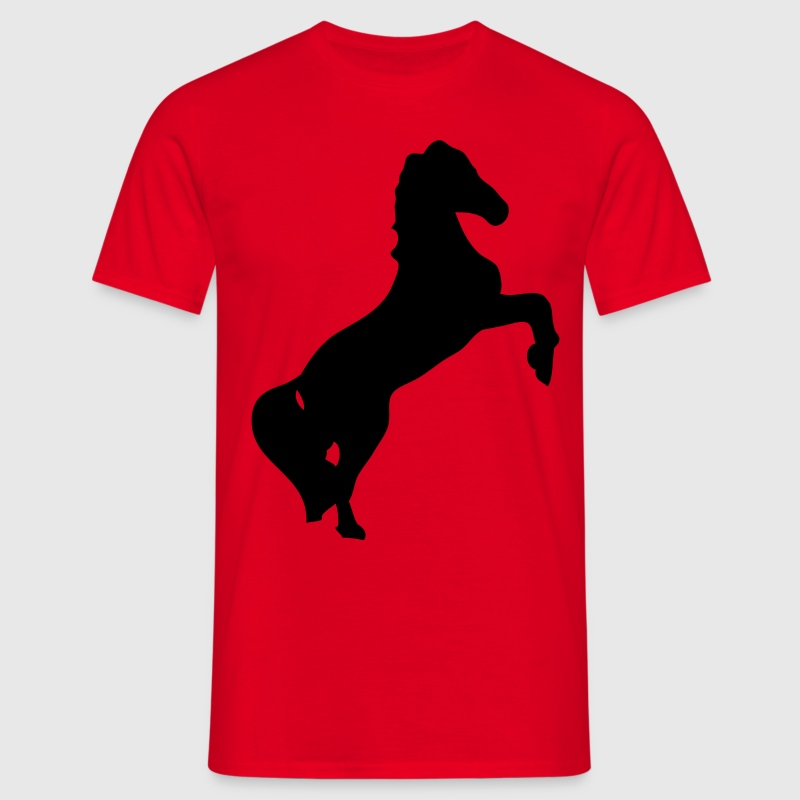 cheval horse silhouette ombre shadow1 Tee shirts - T-shirt Homme
