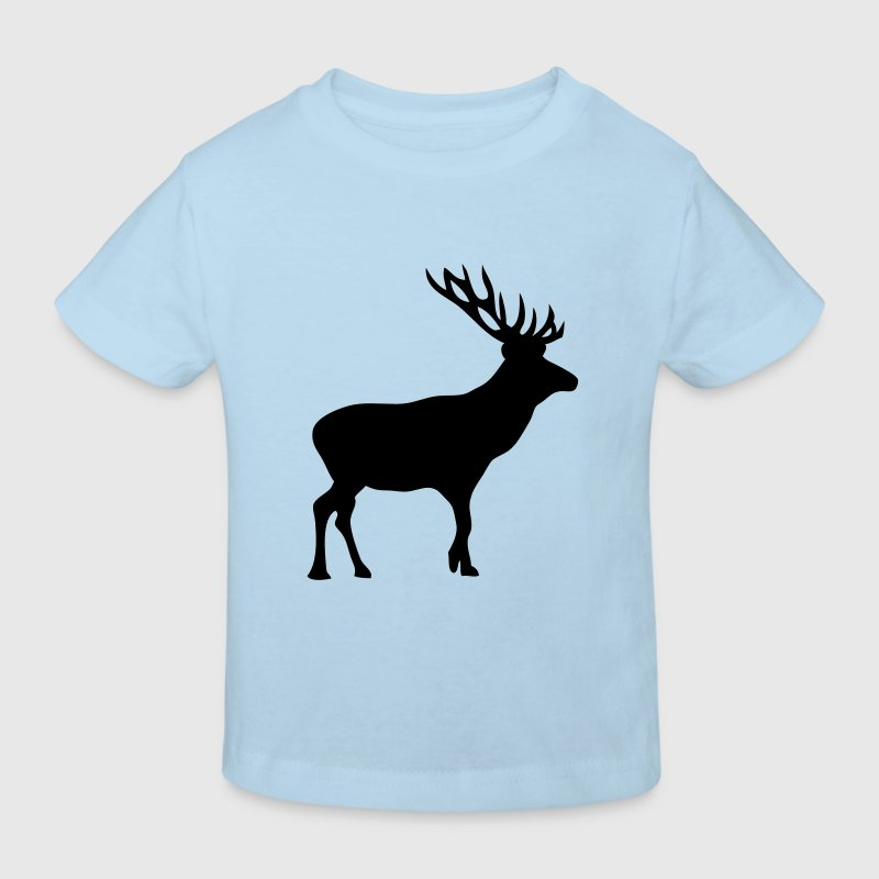 cerf deer silhouette ombre shadow6 Tee shirts Enfants - T-shirt Bio Enfant