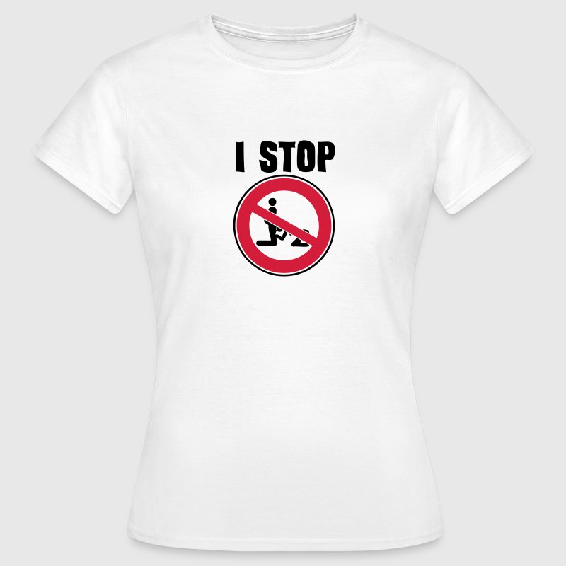 i stop blowjob pipe ban sexual act1 panel - Women's T-Shirt