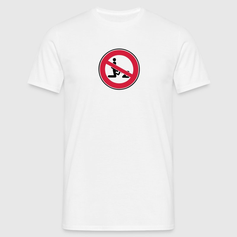 panneau interdit pipe fellation blowjob1 Tee shirts - T-shirt Homme