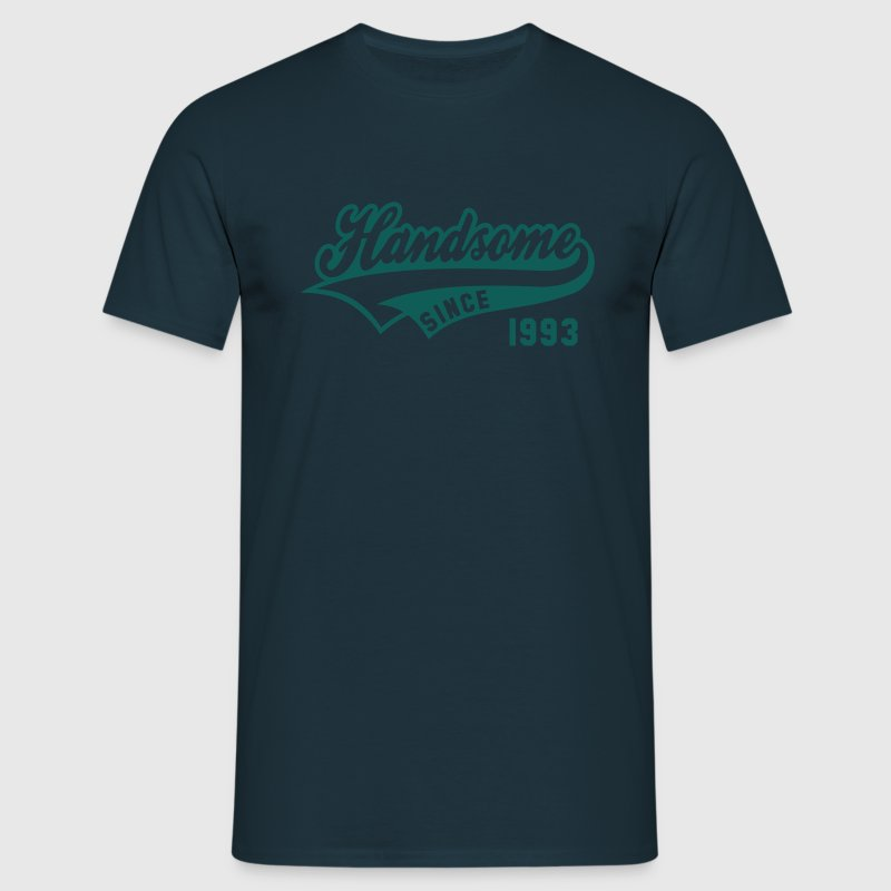 Handsome SINCE 1993 - Birthday Fødselsdag T-Shirt WN - Herre-T-shirt