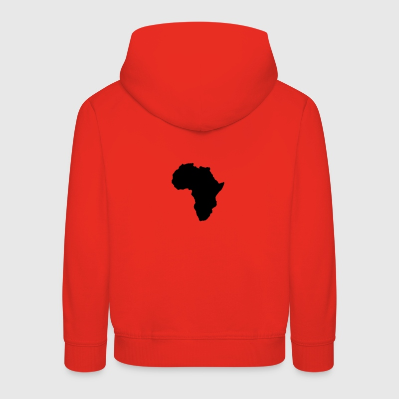 map world shape of africa Hoodies - Kids' Premium Hoodie