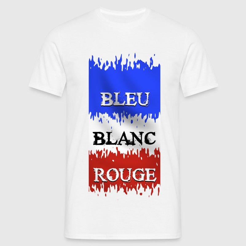 couleurs france design Tee shirts - T-shirt Homme