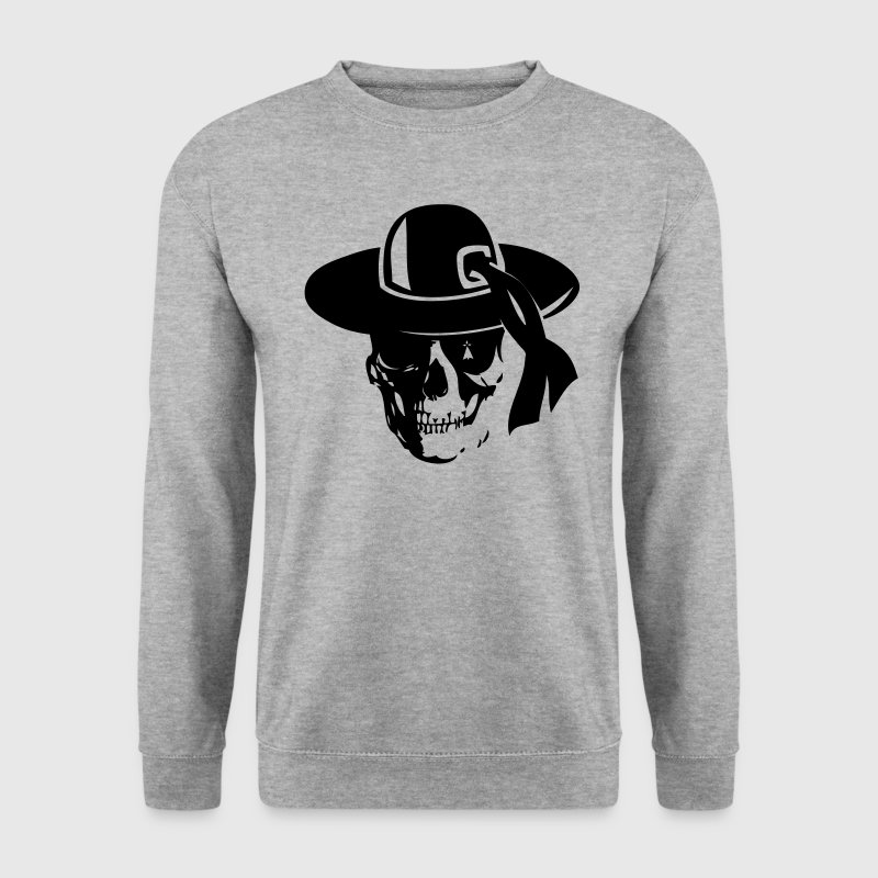 hit breizh pirate4 tete mort skull  Sweat-shirts - Sweat-shirt Homme