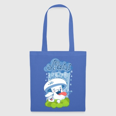 Jeans blue rain mushroom Bags & Backpacks - Tote Bag