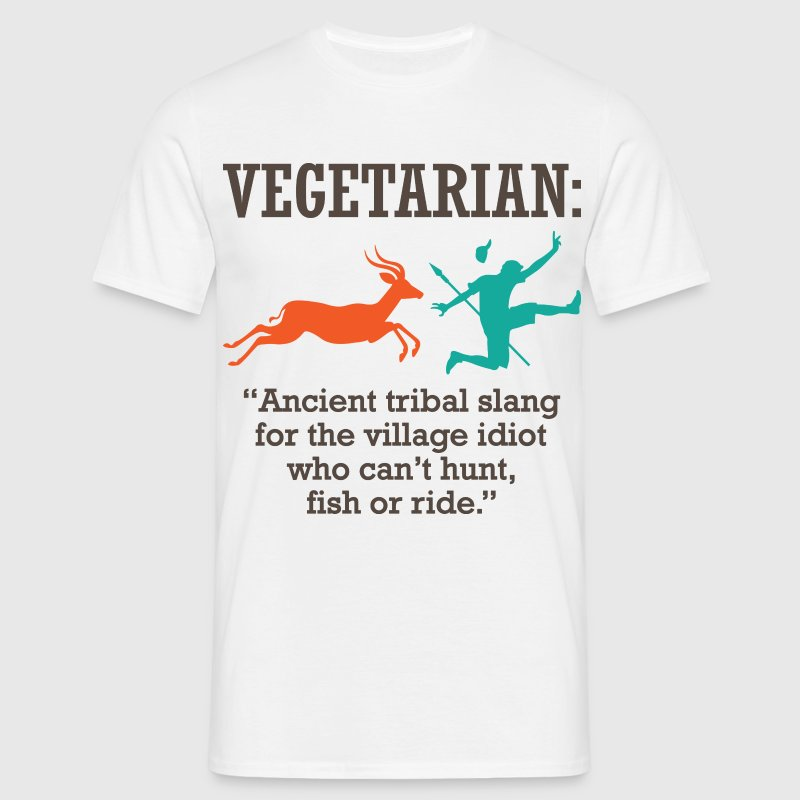 Vegetarian 1 (dd)++ T-Shirts - Men's T-Shirt