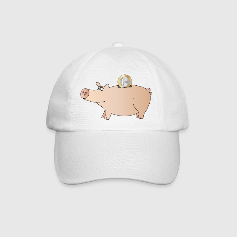 Piggy bank Caps & Hats - Baseball Cap