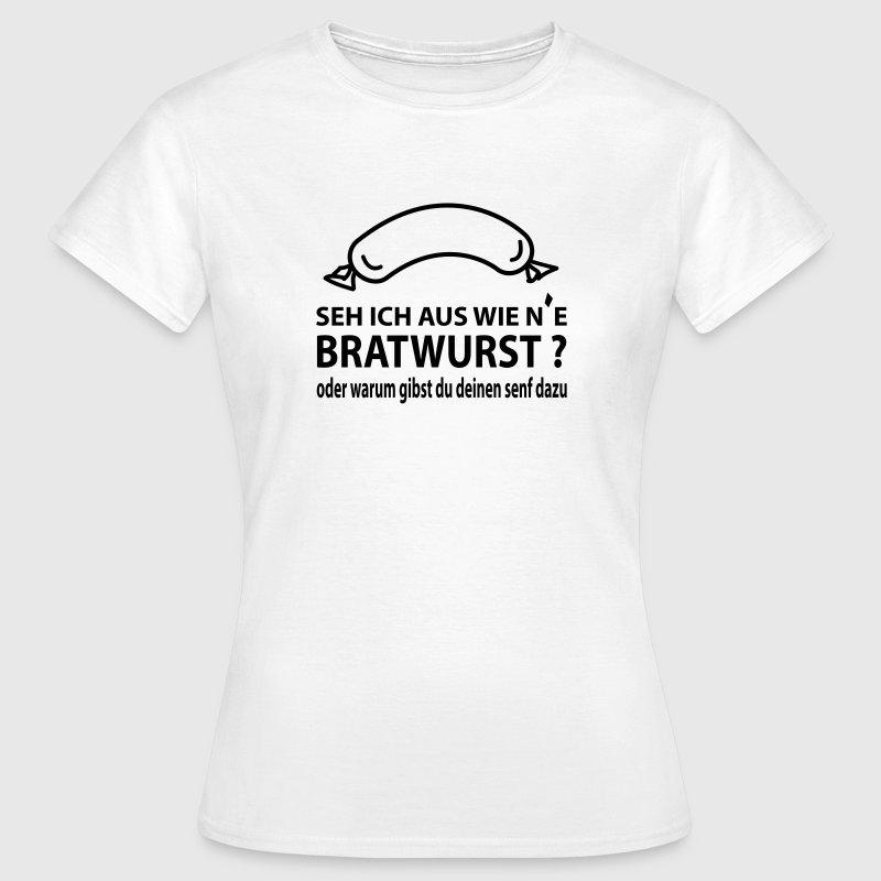 bratwurst t shirt spreadshirt. Black Bedroom Furniture Sets. Home Design Ideas