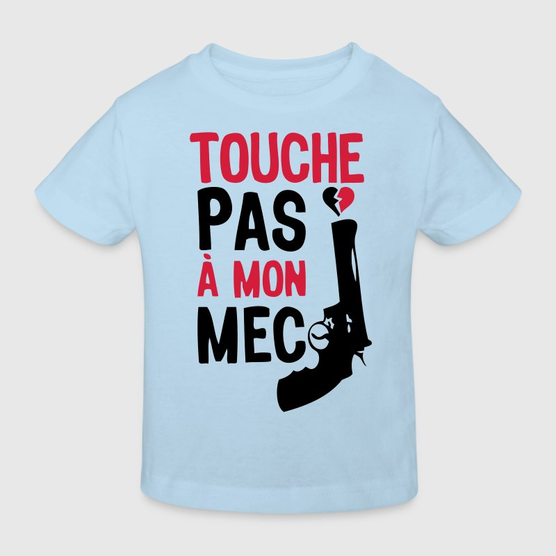 touche pas mec pistolet arme flingue84 Tee shirts Enfants - T-shirt Bio Enfant