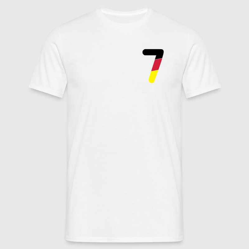 Euro 2012 Germany national football team number 7 - Men's T-Shirt