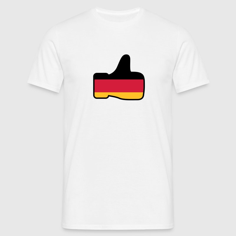 like Deutschland | Germany T-Shirts - Men's T-Shirt