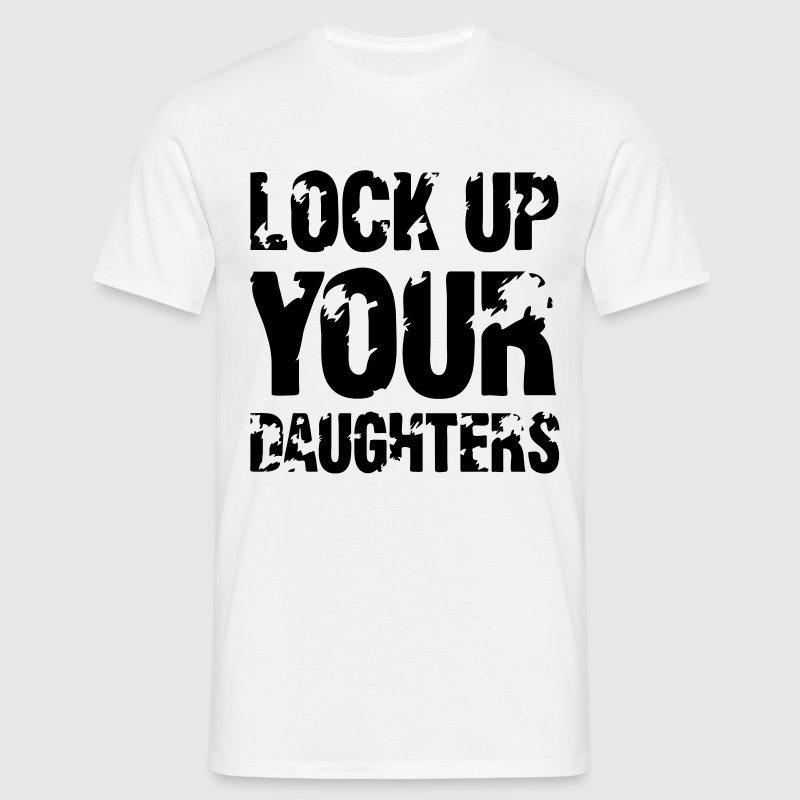 Lock Up Your Daughters T-shirts - Mannen T-shirt