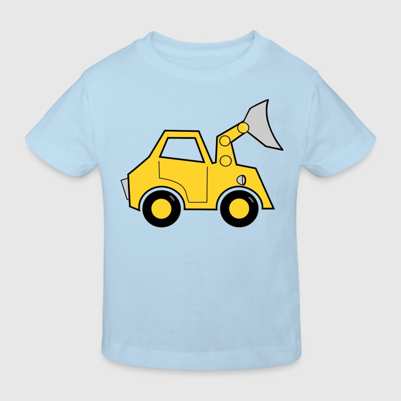 bulldozer Tee shirts Enfants - T-shirt Bio Enfant