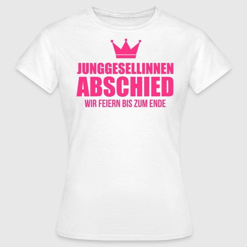 Junggesellinnenabschied jga t shirt spreadshirt for Junggesellinnenabschied t shirt sprüche