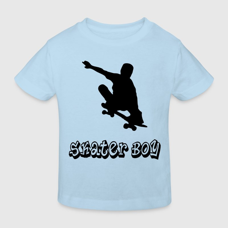 skater boy graffiti style Tee shirts Enfants - T-shirt Bio Enfant