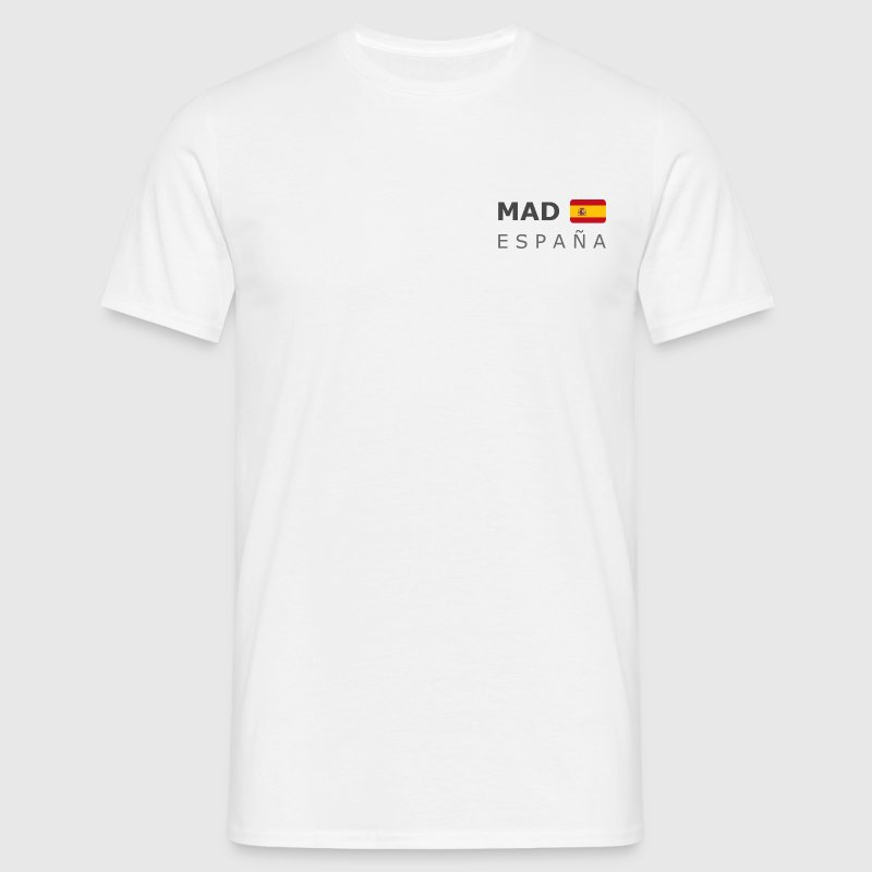 Classic T-Shirt MAD ESPAÑA dark-lettered - Men's T-Shirt