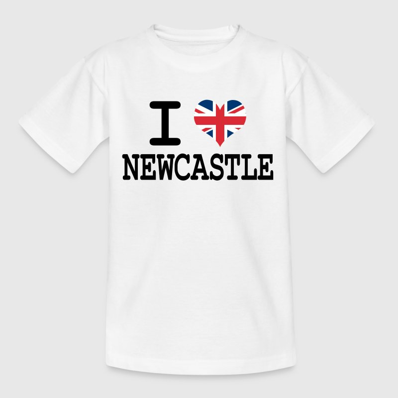 i love Newcastle Kids' Shirts - Teenage T-shirt