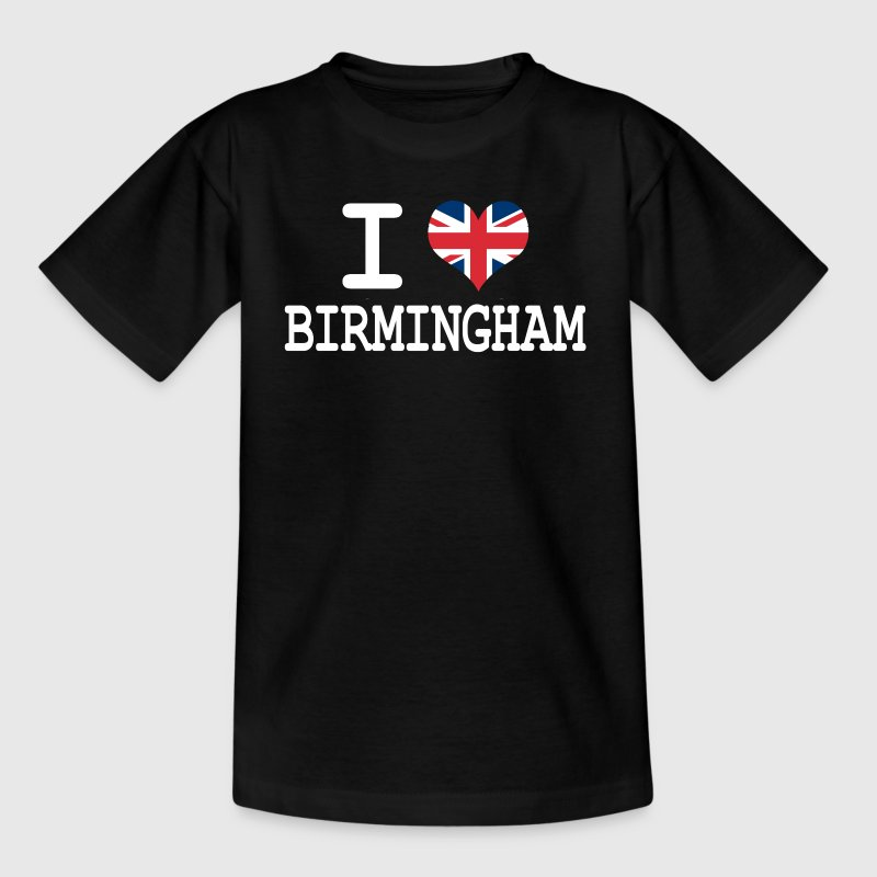 i love Birmingham Kids' Shirts - Teenage T-shirt